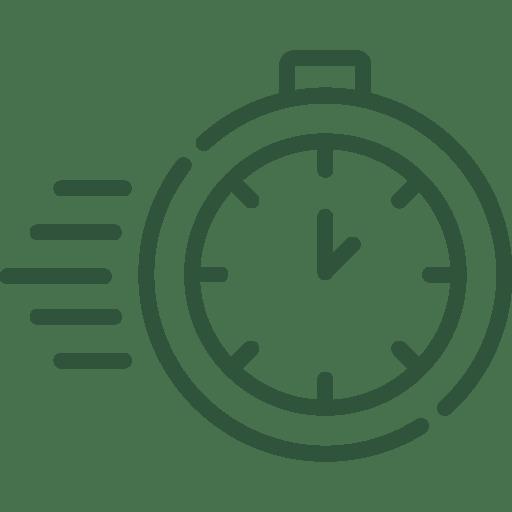 Pictogramme qui représente un chronomètre